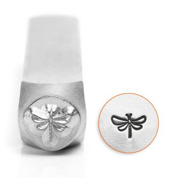 Dragonfly<br>Design Stamp<br>6mm