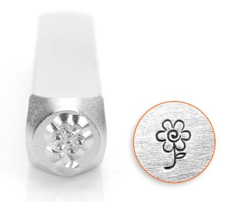 Flower<br>Design Stamp<br>6mm