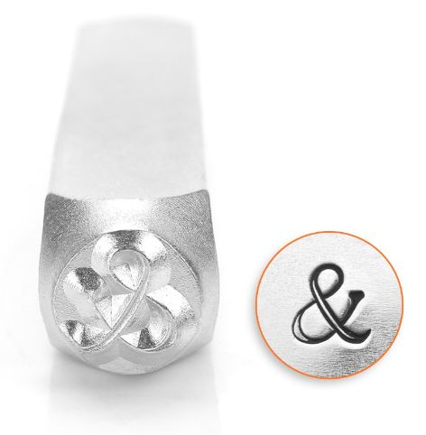 Ampersand<br>Design Stamp<br>6mm